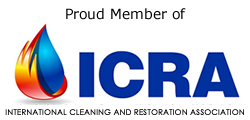 ICRA CERTIFIED MEMBER International Cleaning and Restoration Association