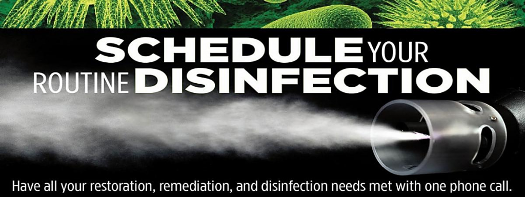 Schedule your routine disinfection with Steramist from Protechs Fort Wayne